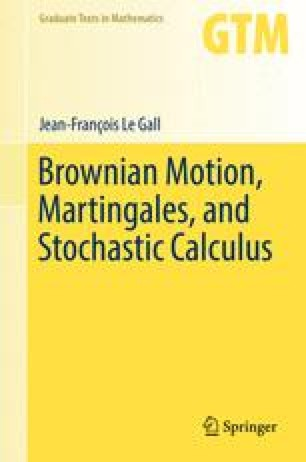brownian motion and stochastic calculus solution manual