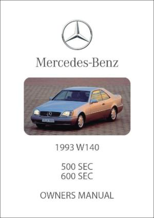 mercedes benz w124 repair manual