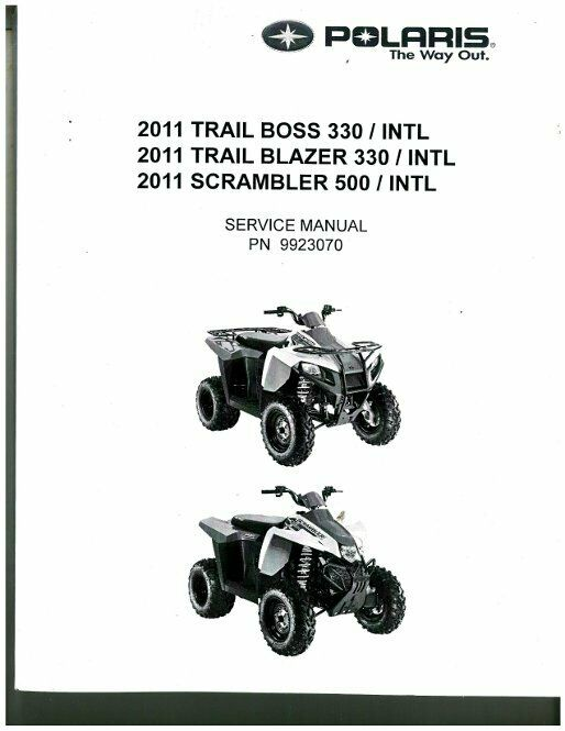 2001 polaris trail boss 325 service manual
