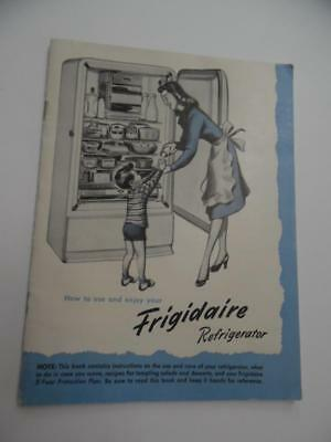 frigidaire gallery refrigerator owners manual