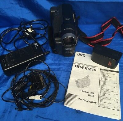 jvc compact vhs camcorder instructions manual