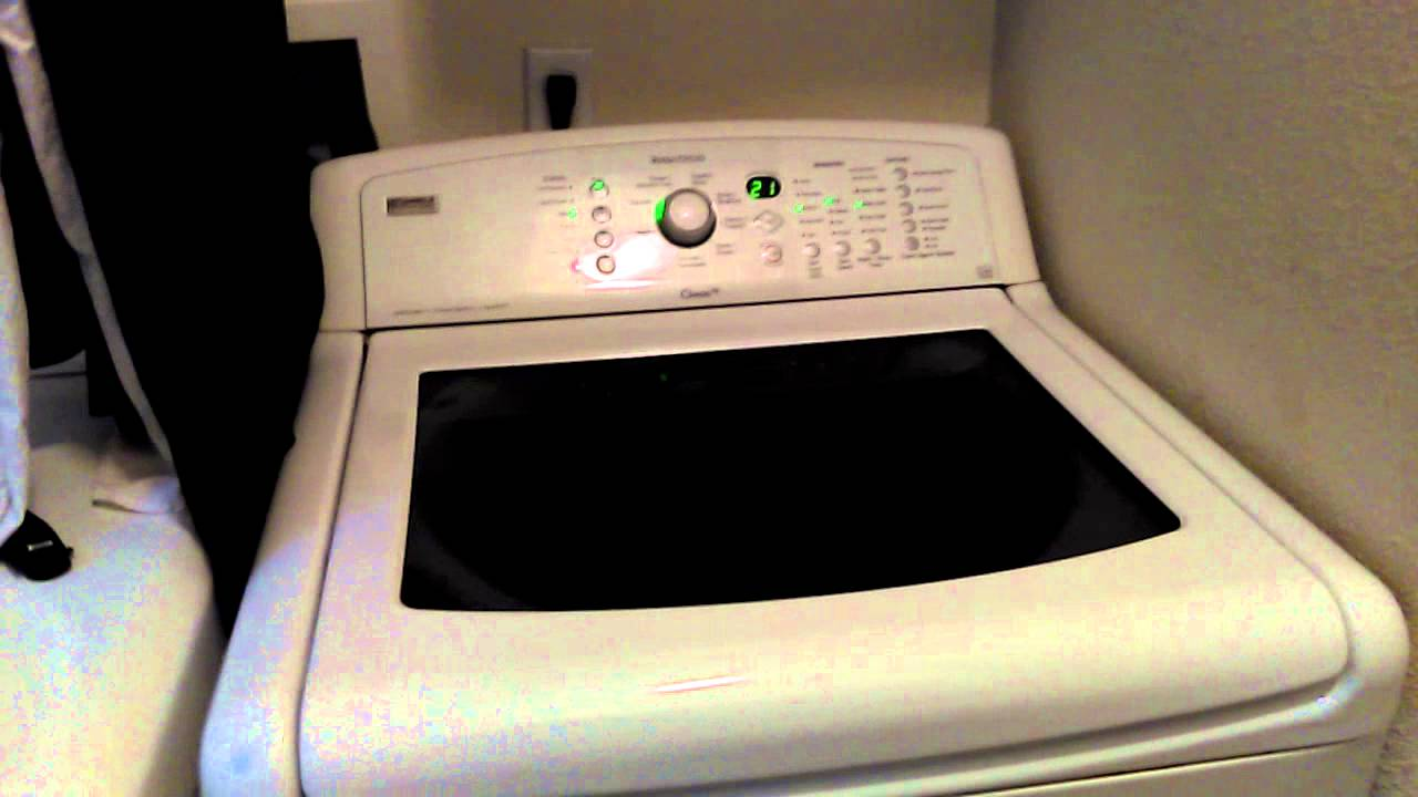 kenmore elite washer parts manual