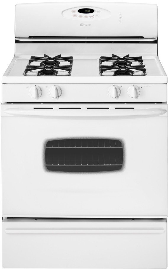 maytag range manual self clean