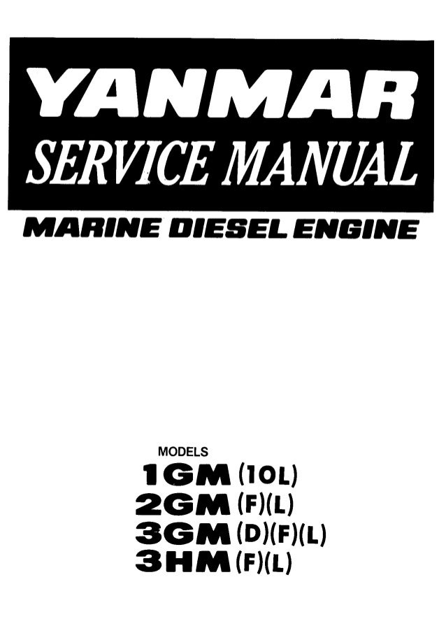 yanmar diesel engine service manual